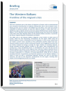 First page of EU Parliament briefing on the Western Balkans
