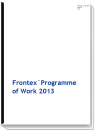 Cover page Frontex Work program 2013