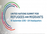 Un Summit on refugees and migrants, logo
