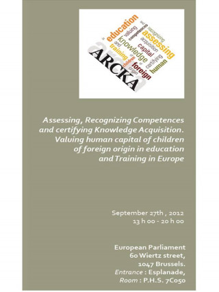 Cover page of conference flyer