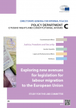 Cover Image Exploring New Avenues for Legislation for Labour Migration