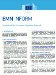 First page of EMN Inform on EMN Impacts