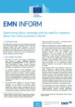 Cover image EMN Inform on labour shortages