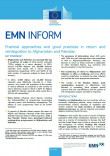 Cover Picture EMN Inform on return and reintegration to Afghanistan and Pakistan