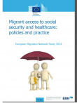 Cover page of synthesis report Migrants' Access to Social Security