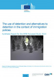 Cover report EMN Study use of detention and alternatives to detention