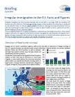 Cover picture EPRS Briefing irregular migration