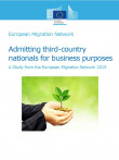 Cover page of EU synthesis of EMN business migration study