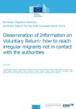 Cover image EU synthesis on dissemination of information on voluntary return
