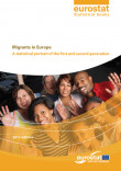 Cover of the Eurostat-publication on Migrants in Europe