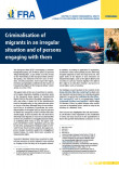 Cover picture FRA criminalisation of migrants