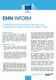 Cover picture EMN Inform on return to Western Africa