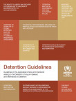Cover page of new UNHCR detention guidelines