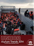 Cover page of UNHCR Asylum Trends 2014