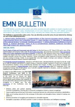 Cover of the 14th edition of the EMN Bulletin