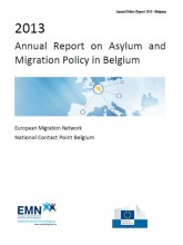 Cover page of 2013 BE EMN Policy report