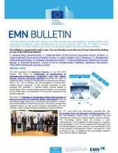 Cover Image 15th edition EMN Bulletin