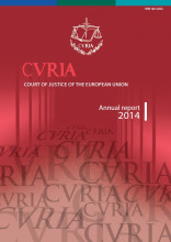 Cover CJEU Annual Report 2014