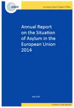 cover image EASO report 2014