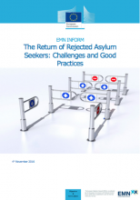 Cover image Inform on rejected asylum seekers