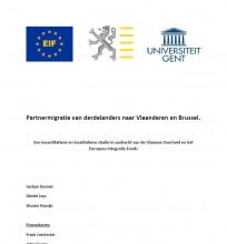 Cover Rapport Project Partnermigratie