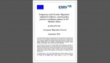 Cover Temporary and Circular Migration Report