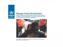 Couverture de la publication de l' UNHCR