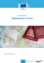 Cover image EMN Inform on statelessness