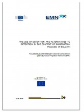 Cover page of EMN study on (alternatives to) detention