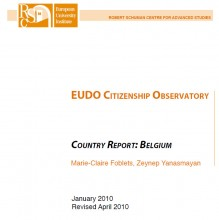 Cover EUDO Citizenship Observatory
