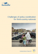 Cover Challenges of policy coordination for TCNs (Eurofund)