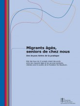 "Cover page of the publication ""Elderly migrants: seniors in our country"""