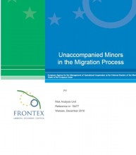 cover Frontex study on UM's