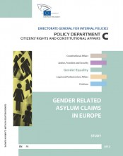 Cover EP Study on Gender Related Asylum Claims in Europe