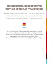 Cover Information Brochure Human Trafficking (Centre)