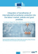 Cover EMN study on integration of beneficiaries of international protection