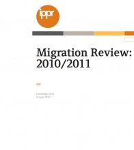 cover IPPR-Migration Review 2010/2011
