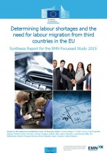 Cover image EU synthesis report on labour shortages