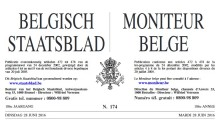 Image Belgian Official Gazette