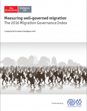 Measuring well-governed migration - the 2016 Migration Governance Index