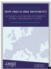 Cover Page of MPI Europe Publication on Free Movement Drivers
