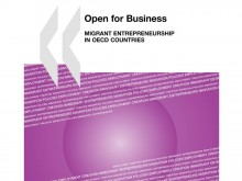 Cover page of OECD publication Open for Business