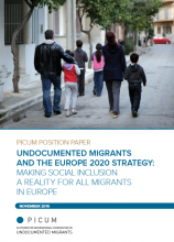 Front page - Undocumented migrants and the Europe 2020 Strategy