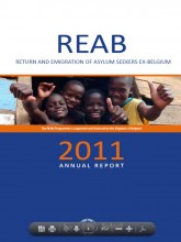 Cover page of the REAB 2011 Annual report
