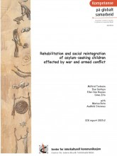 Cover page of publication on asylum-seeking children affected by war