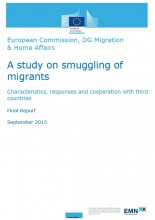 Cover image EMN study on smuggling of migrants