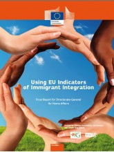 "Cover page of the Publication ""Using EU Indicators of Immigrant Integration"""